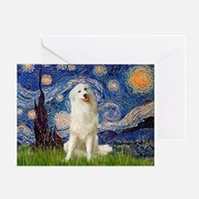 Starry Night / Pyrenees Greeting Card