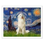 Starry Night / Pyrenees Small Poster