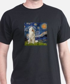Starry Night / Pyrenees T-Shirt