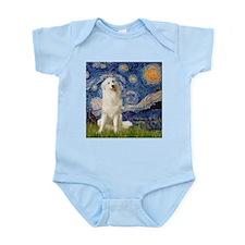 Starry Night / Pyrenees Infant Bodysuit