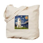 Starry Night / Pyrenees Tote Bag