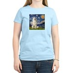 Starry Night / Pyrenees Women's Light T-Shirt