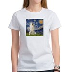 Starry Night / Pyrenees Women's T-Shirt
