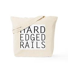 Hard Edged Rails Kayak Tote Bag