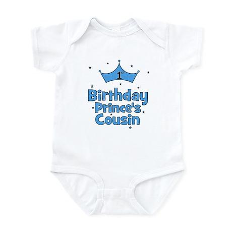 1st Birthday Prince's Cousin! Infant Bodysuit
