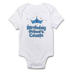 1st Birthday Prince's Cousin! Infant Bodysuit
