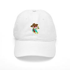Cowboy Skull #1023 Baseball Cap