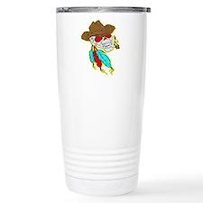 Cowboy Skull #1023 Travel Mug