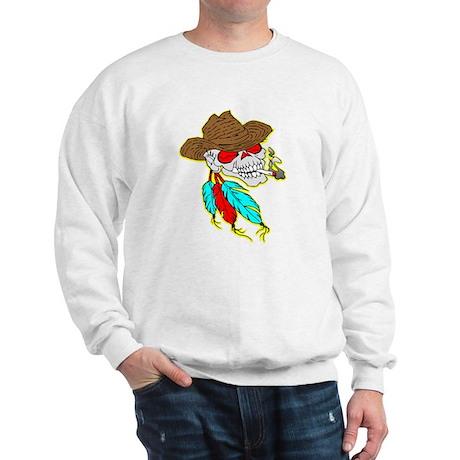 Cowboy Skull #1023 Sweatshirt