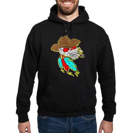 Cowboy Skull #1023 Hoodie (dark)