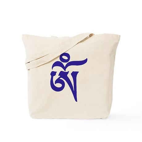 Tibetan Aum Tote Bag