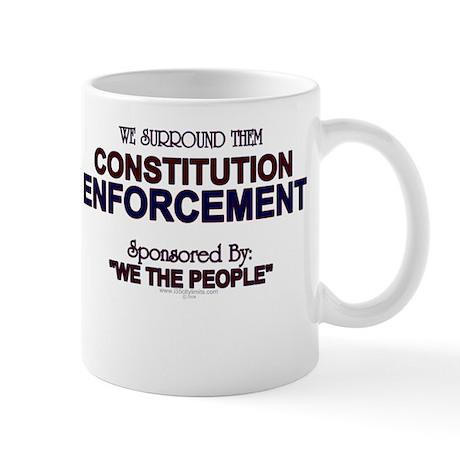 Constitution Enforcement Mug