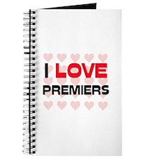 I LOVE PREMIERS Journal