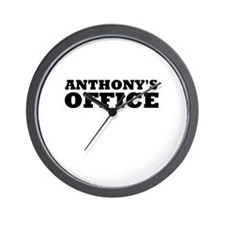 ANTHONY'S OFFICE Wall Clock