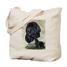 Newfoundland Portrait Tote Bag