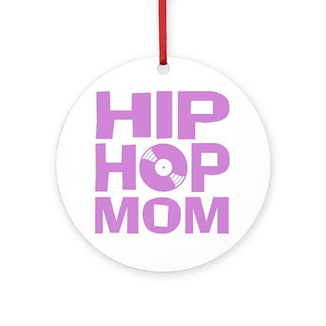 Hip Hop Mom Ornament (Round)