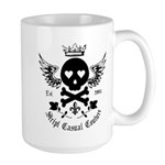 Skull and Crossbones w/Wings Large Mug