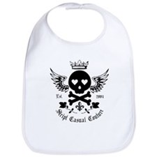 Skull and Crossbones w/Wings Bib