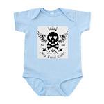 Skull and Crossbones w/Wings Infant Bodysuit