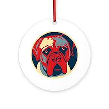 Vote Mastiff! - Ornament (Round)