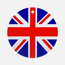 London Union Jack Ornament (Round)