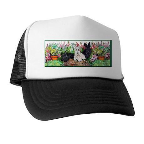 Scottie Garden Patrol Trucker Hat