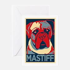 Vote Mastiff! - Greeting Card