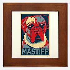 Vote Mastiff! - Framed Tile