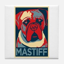 Vote Mastiff! - Tile Coaster