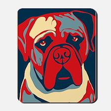 Vote Mastiff! - Mousepad