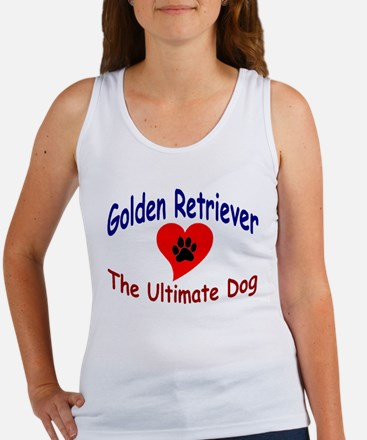 Golden Retriever Women's Tank Top