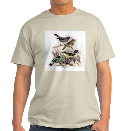 Bird Art 5 Light T-Shirt