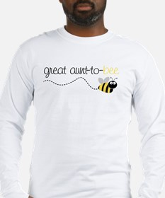 great aunt to be shirt Long Sleeve T-Shirt
