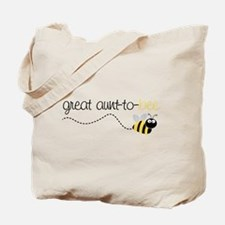 great aunt to be shirt Tote Bag