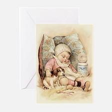 Sleepy Baby Greeting Cards (Pk of 10)