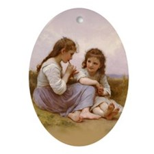 Music Shared Oval Ornament