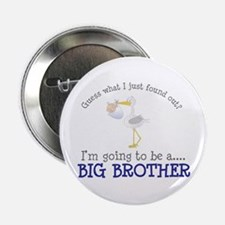 """big brother to be stork shirt 2.25"""" Button"""