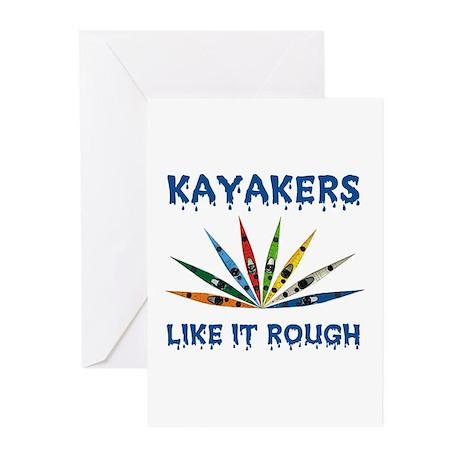 KAYAK Greeting Cards (Pk of 10)