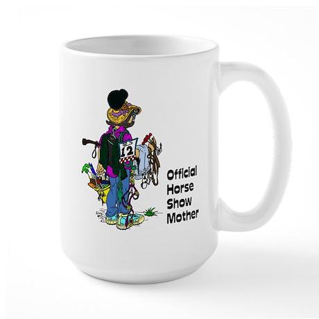 Horse Show Mom - english Mugs