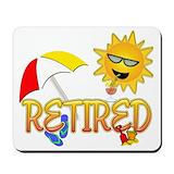 Retirement Classic Mousepad