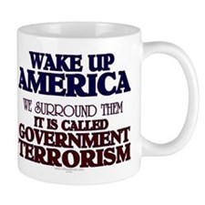 Government Terrorism Mug