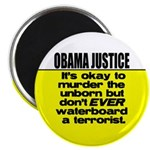 "Obama Justice 2.25"" Magnet (100 pack)"