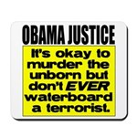 Obama Justice Mousepad