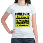 Obama Justice Jr. Ringer T-Shirt