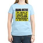 Obama Justice Women's Light T-Shirt