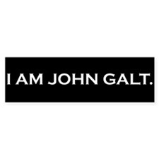 I Am John Galt Bumper Bumper Sticker