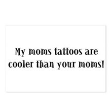 My moms tattoos are cooler th Postcards (Package o