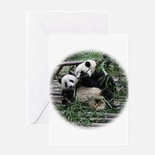 Unique Cute panda Greeting Card