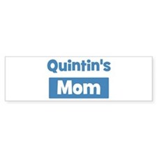 Quintins Mom Bumper Bumper Sticker