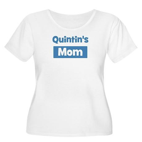 Quintins Mom Women's Plus Size Scoop Neck T-Shirt